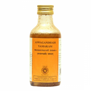 купить Ашвагандхади Ямакам Арья Вадья Сала (Ashwagandhadi Yamakam Arya Vaidya Sala), 1 упаковки по 200 мл