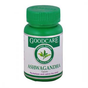 купить Ашваганда Гуд Кэр (Ashwagandha Goodcare), 1 упаковки по 60 капсул